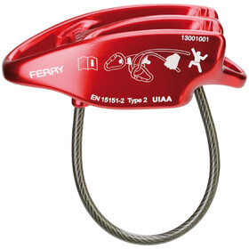 Ocun Ferry Belay-laite, red